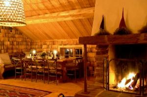 Winter, fam hill, Lindvallens Fäbod, traditional