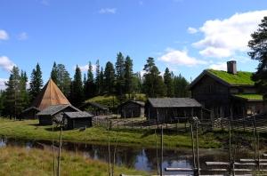 Farm hill, local, traditional, Sälen, Sälenfjällen, Sweden