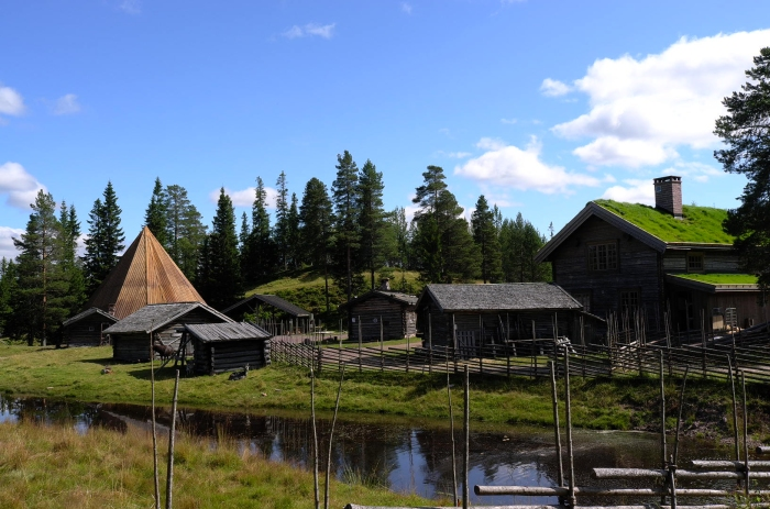 Farm hill, local, traditional, Sälen, Sälenfjällen, Sweden
