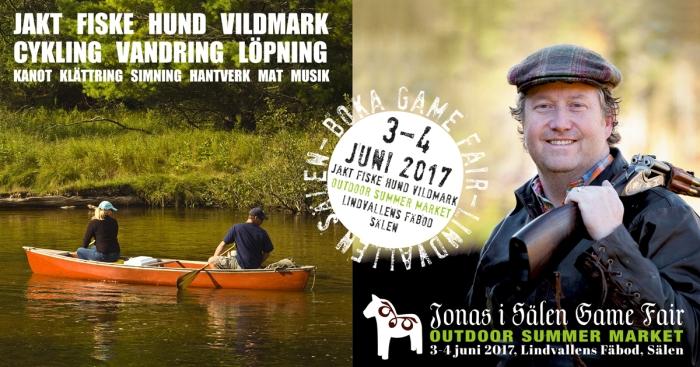 Jonas i Sälen Game Fair, Outdoor Summer Market, mässa sälen, mässa lindvallen, jaktmässa, fiskemässa, outdoormässa, jakt, fiske, cykling, löpning, vandring