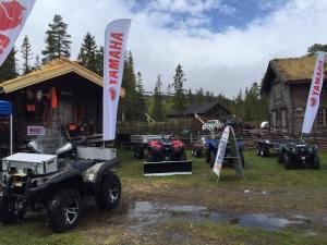 Jonas i Sälen Game Fair 2016, gamefair 2016, jaktmässa, fiskemässa, Yamaha, Lindvallens Fäbod, Leonarden, Sälenfjällen
