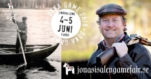 Jonas i Sälen Game Fair, gamefair 2016, Jonas hunting, jaktmässa, fiskemässa, Lindvallens Fäbod, Sälen, Sälenfjällen