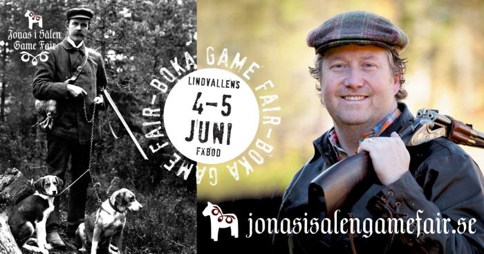 Jaktmässa, gamefair, jaktmässa i Sälen, fiskemässa, Jonas i Sälen Game Fair, Jocke Smålänning, skytte, Jonas i Sälen, Sälen