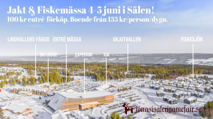 Jonas i Sälen Game Fair, jaktmässa, fiskemässa, Ski Lodge, Experium, Sälen, Jonas i Sälen, Jocke Smålänning, Ödemarksjägarn