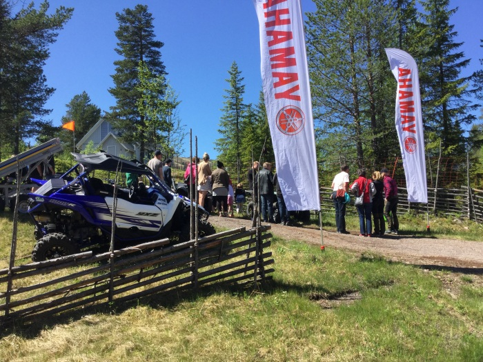 ATV, fyrhjulingar, Yamaha, Sälen, jaktmässa, fiskemässa, gamefair 2017, jonas i sälen gamefair