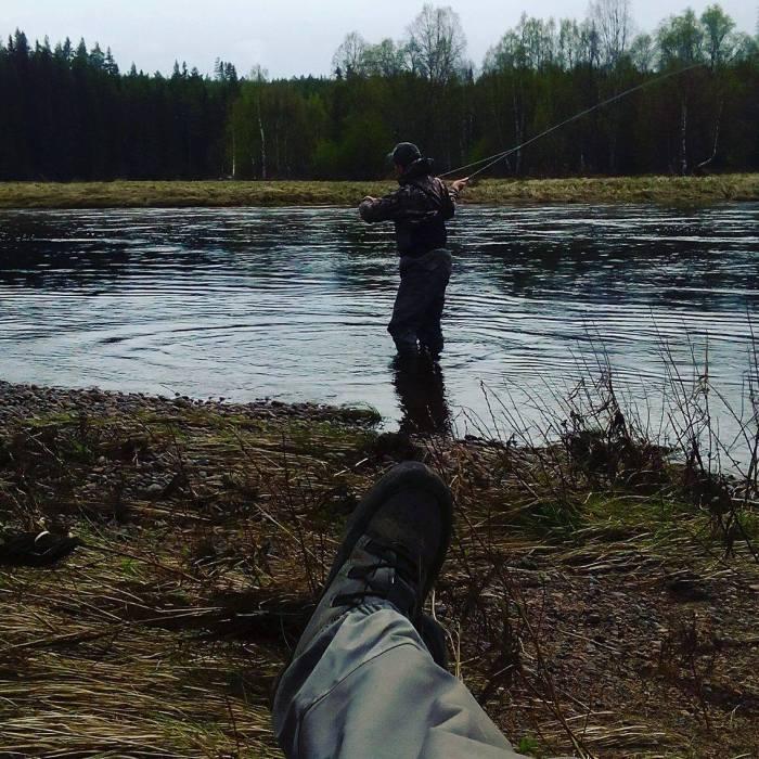 Servicecentrum Sälen, Sälens by, fiske i Sälen, Västerdalälven, vildmark, fiskeguide, äventyr, Vision, friluftsliv, Sälen, flugfiske, fly fishing