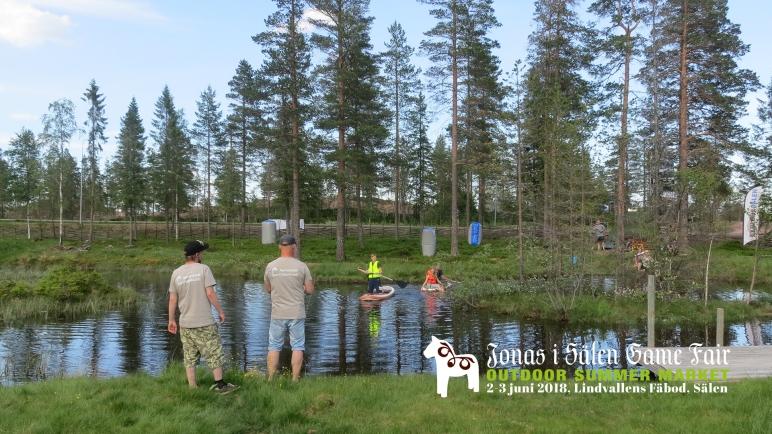 lindvallens fäbod, mässa sälen, familj, familjeaktiviteter, barn, barnaktiviteter, bad, paddla, SUP, stand up paddleboard, Jonas i Sälen Game Fair, Outdoor Summer Market, Explore Sälen